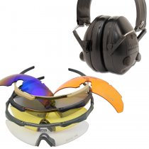 Combo: DAA Bravo Elite and Dillon HP1 Hearing Protectors