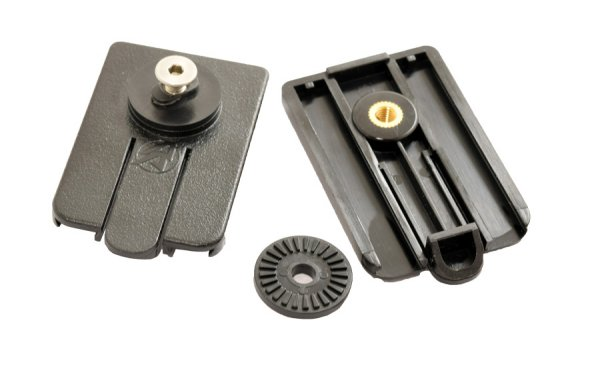 Alpha Rail Outer Attachment Plate - 2 Pcs Pack