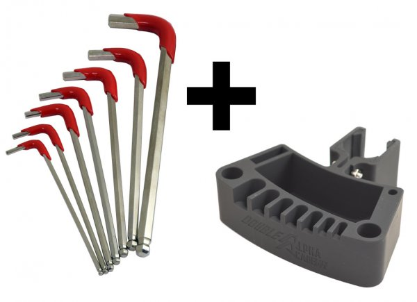 Bundle - DAA Reloading Press Tool Holder and Hex Key