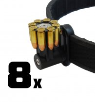 Combo: 8x DAA Magnetic 8 shot 9mm Moon-Clip Holder