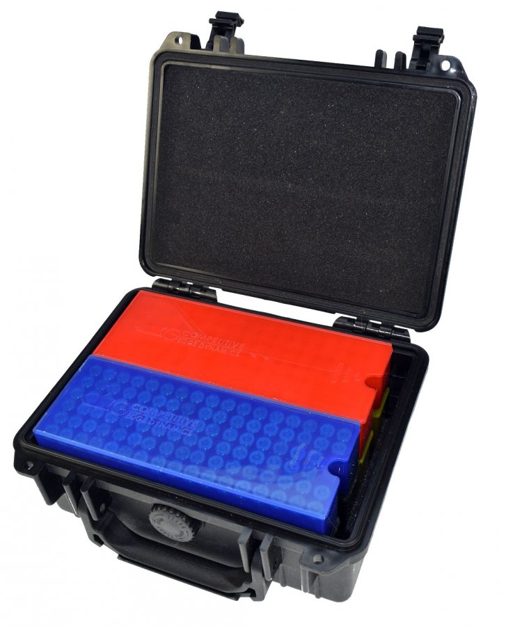 Combo: CED Waterproof Ammo Case with 4 Ammo Trays