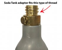 CoolFire Top of Soda Fill Adapter