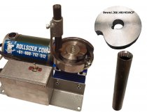 Rollsizer - Complete DC Drive Mini Roll Sizer with Caliber discs and Drop Tube