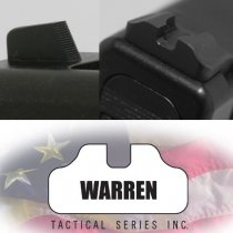 Warren Tactical Glock Sights without Fiber Optic Front