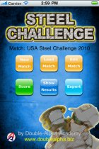 Steel Challenge - iPhone/iPod Application 1