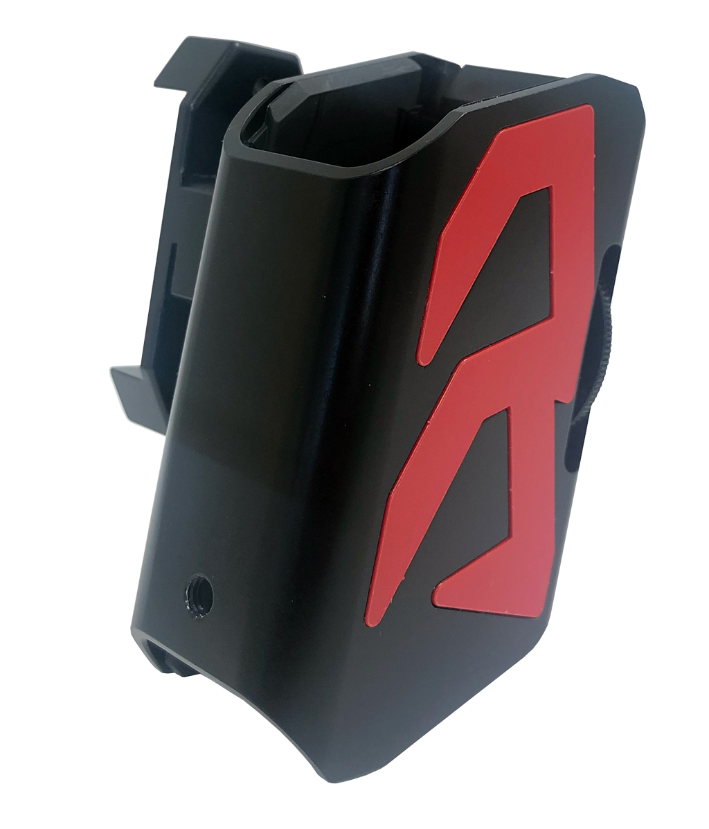 Alpha-X Pouch with Color Inlays