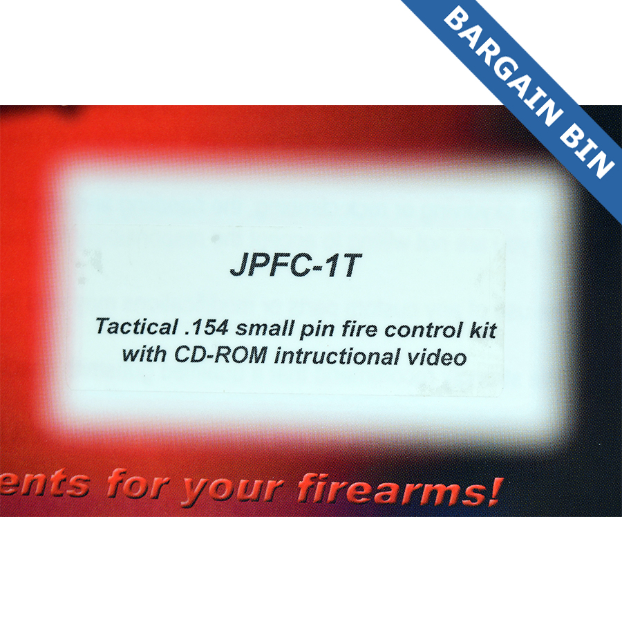BB700013 JP Enterprises Fire Control Tactical .154 SM Pin  - New