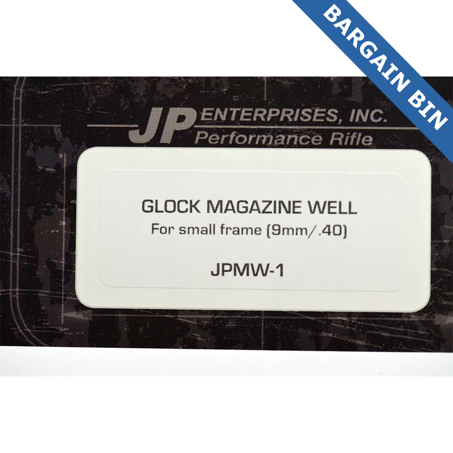BB700014 JP Enterprises Glock Mag Well 5M Frame(9mm/40) - New