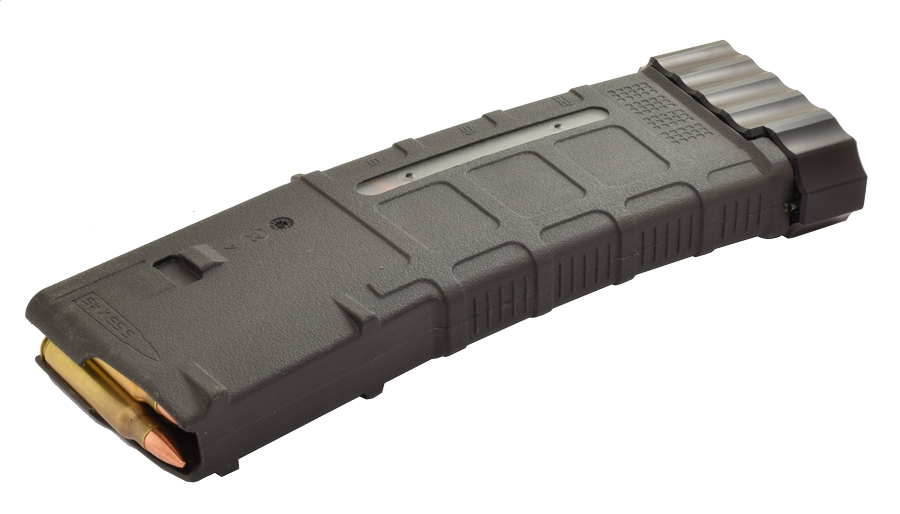 DAA Aluminum +5 base pads for Magpul AR15