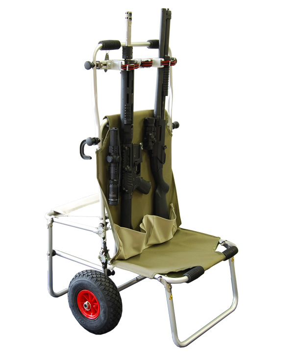 Eckla Multi Rolly - IPSC Range Cart With Rifles