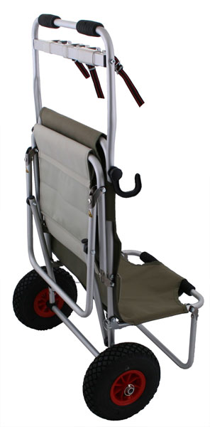 Eckla Multi Rolly - IPSC Range Cart Back View