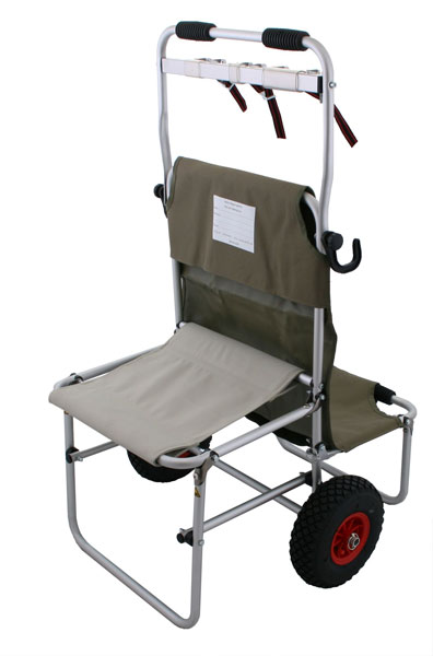Eckla Multi Rolly - IPSC Range Cart Front View