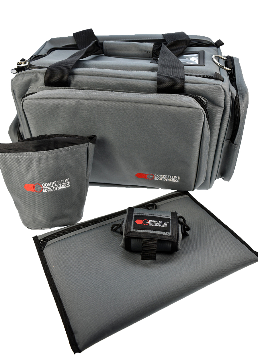 CED Deluxe Professional Range Bag Gray