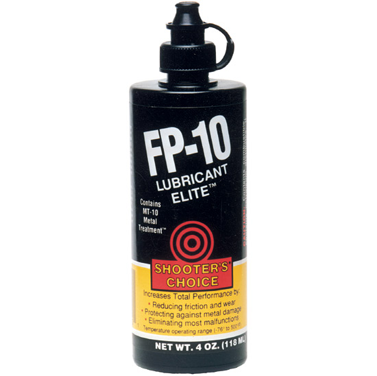 Shooter's Choice Lubricant Elite FP-10 Oil 4oz