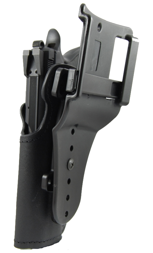 PDR Low Ride IPSC Holster Back View