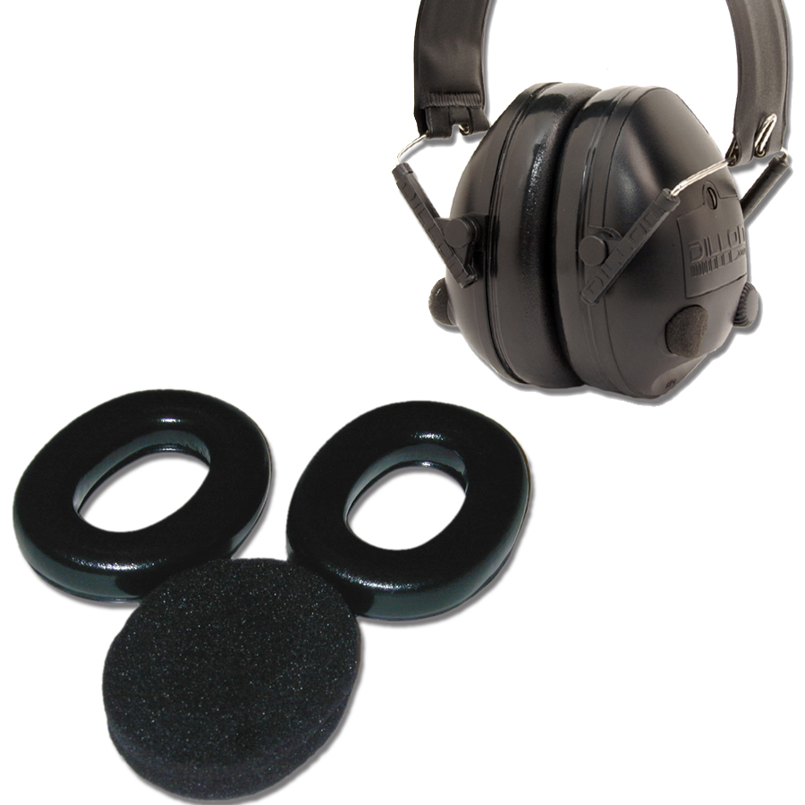 Combo: Dillon HP1 Electronic Hearing Protectors and HP1 Hygiene Kit