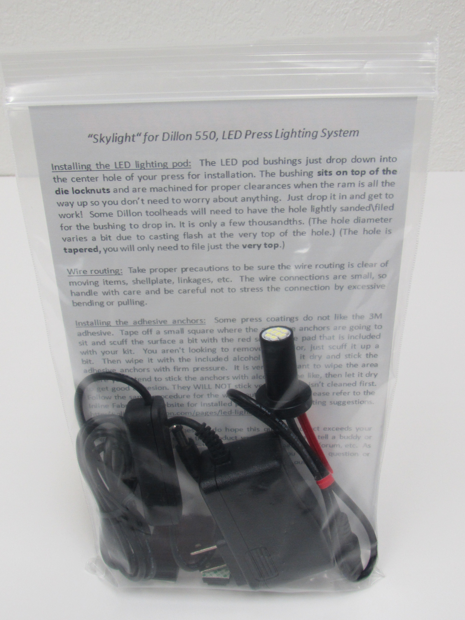 InLine Fabrication LED lighting system for Dillon 550