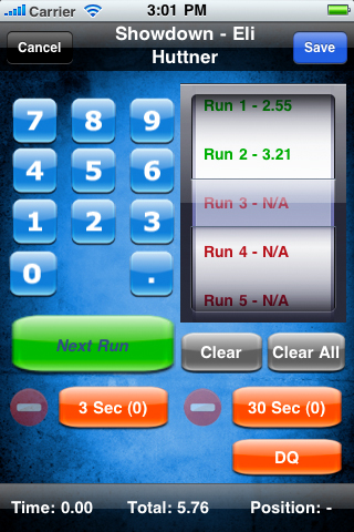 Steel Challenge - iPhone/iPod Application