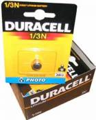 Duracell 1/3N 3 Volt Lithium Battery - cannot be shipped with UPS Saver