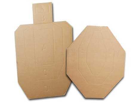 CED Airsoft USPSA targets - 50 pack