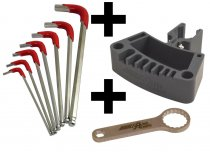 "Combo: DAA Reloading Press Tool Holder, Hex Key and 1"" Die Wrench"